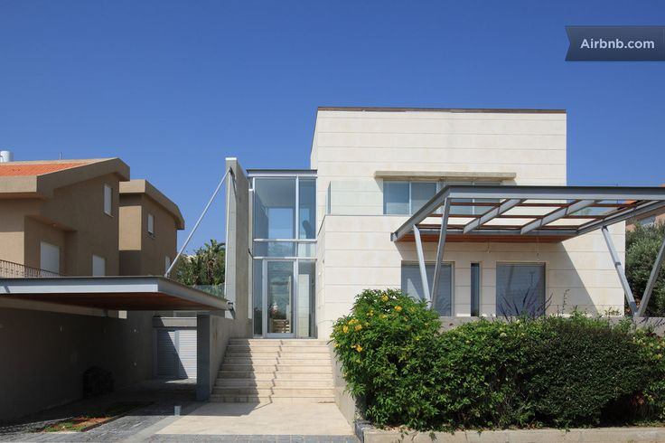 Modern house with great sea view in Zikhron Ya'akov