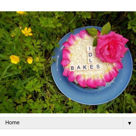 Rose Petal Genoese Sponge Cake