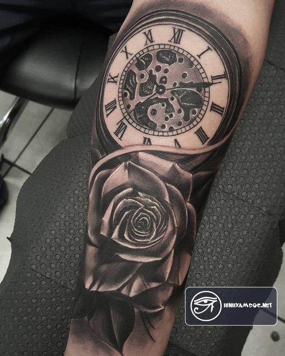 83 Awesome Y G Tattoos Cool Tattoo Designs: 83 Hình Xăm đồng Hồ đẹp đẳng Cấp Cho Nam Giới ở Cánh Tay