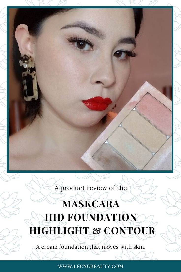 Maskcara HAC Kit IIID Foundation Highlight and Contour