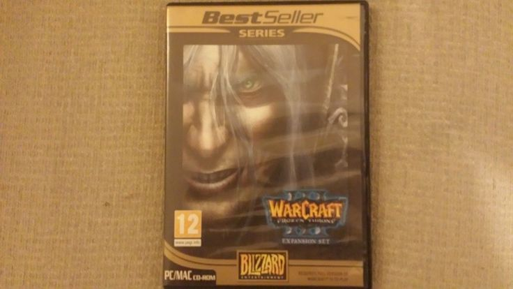 Warcraft III: Frozen Throne for PC/Mac by Blizzard on CD