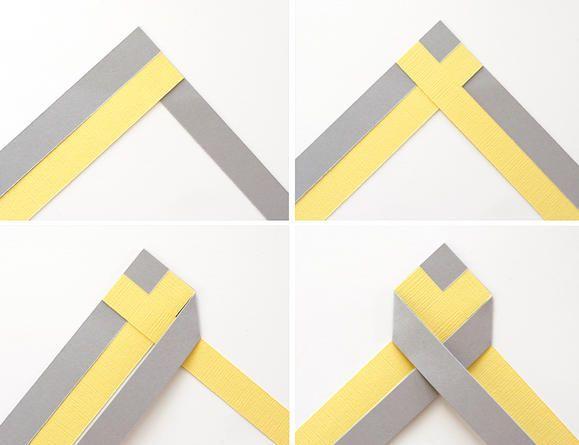 chevron braid demo--do this w/ ribbon!