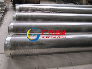 wedge wire screen: Stainless Steel Rod Based Screens