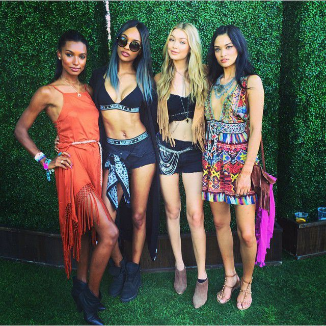 #modelki #Festiwal #Coachella