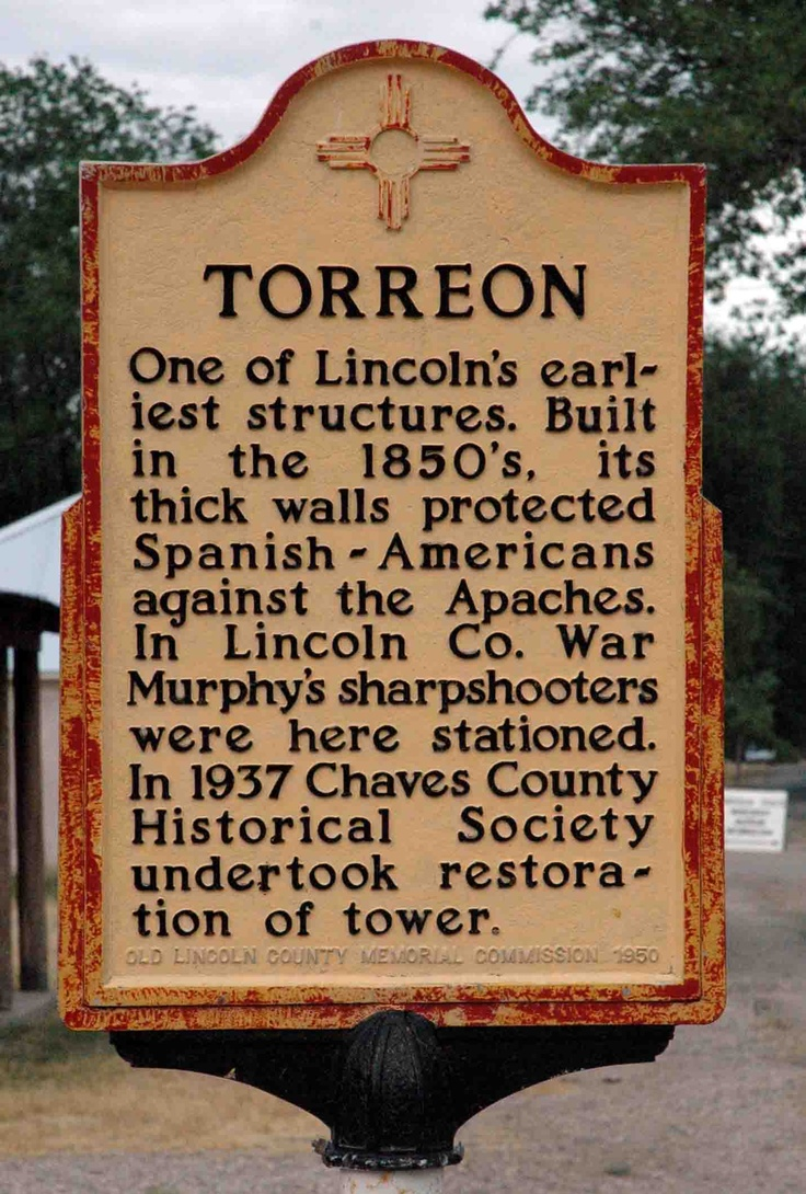 This torreon is in lincoln nm we would play in it