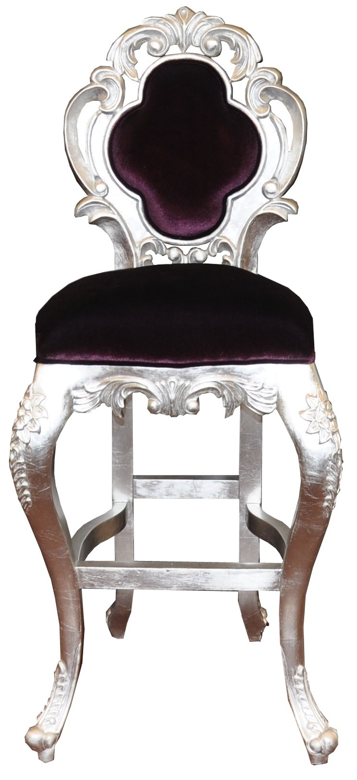 Colette Velvet Luxury Modern Bar Stool Pirate House