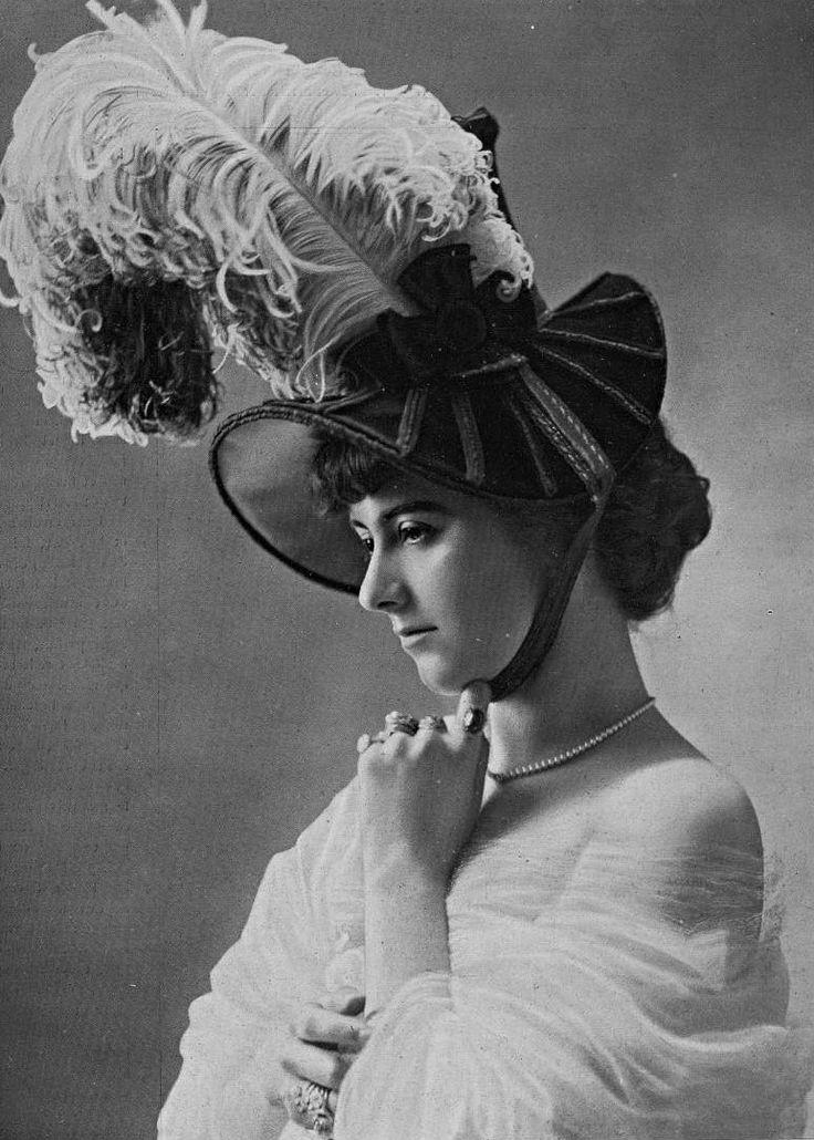 Chapeau par alphonsine 1907 vintage info tv ttr d for Trend style wedel