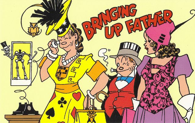 bringing up father comic - Buscar con Google