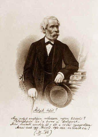 Arany János időskori portréja