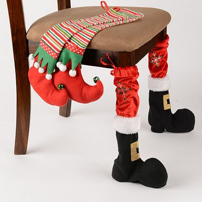 Christmas Chair Leg Covers