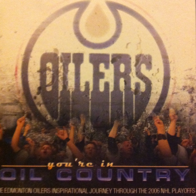 My fav Oilers DVD... Although it should have had a better ending.