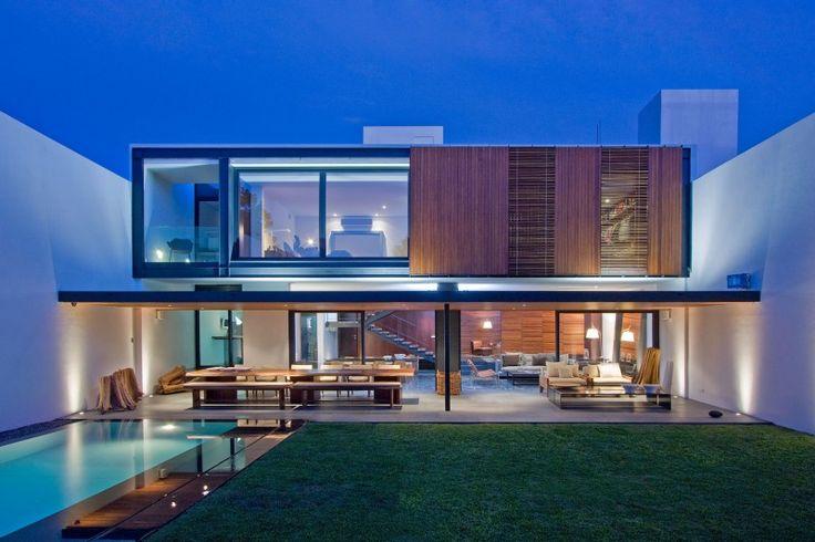 Mexican contemporary homes