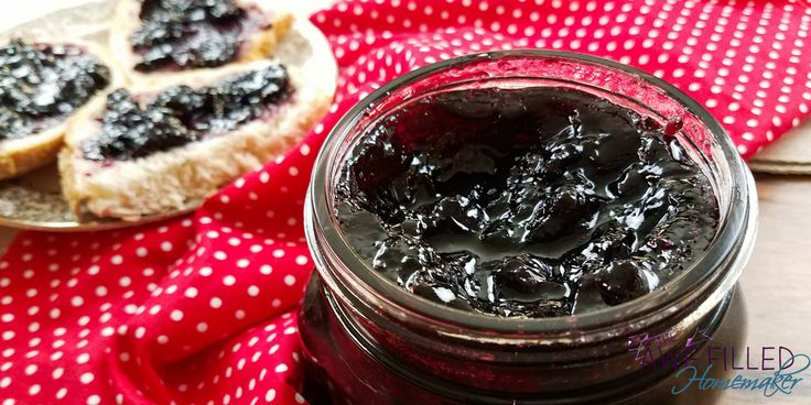 Instant Pot Blueberry Jam Simply Happy Foodie – Instant Pot Blueberry Jam Is A F…