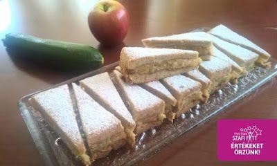 Paleo cukkinis almás lepény (gluténmentes, tejmentes, cukormentes) ~ Éhezésmentes Karcsúság Szafival