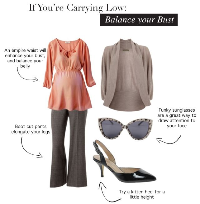 How to Style Maternity fashion if you're carrying low ...