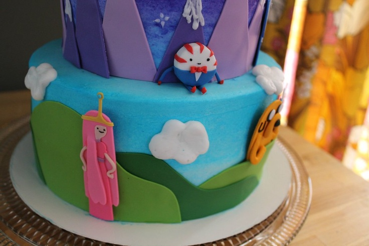 Adventure Time Cake From Reddit