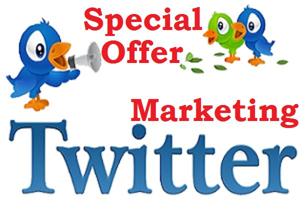 Special Twitter Marketing Offer for $5