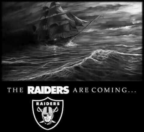 The Raiders are Coming