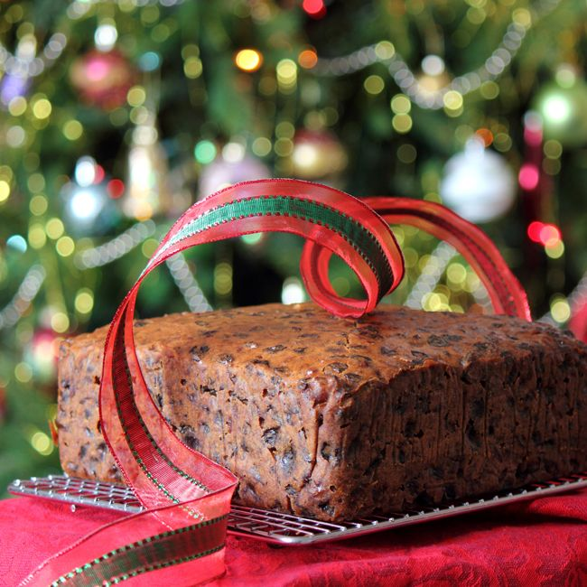 """Pineapple Christmas Cake ~ via this blog, """"The Kiwi Cook""""."""