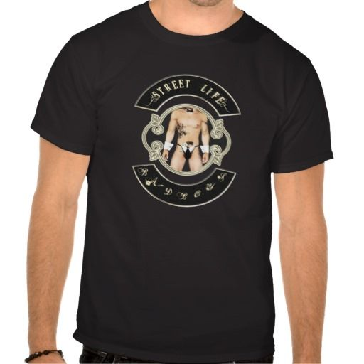 BadBoys gold logo with man with a gun in his pants Tshirts