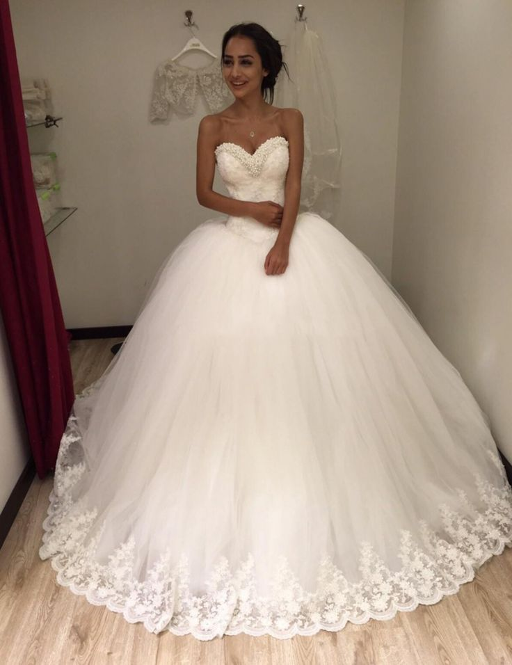 50 best Ball Gown Wedding Dresses 2016 images on Pinterest | Wedding ...