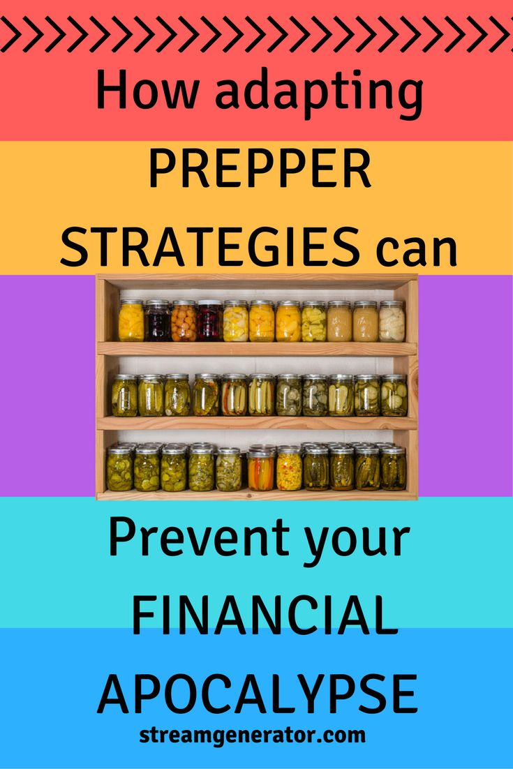 How adapting ideas from doomsday preppers can help you survive financially