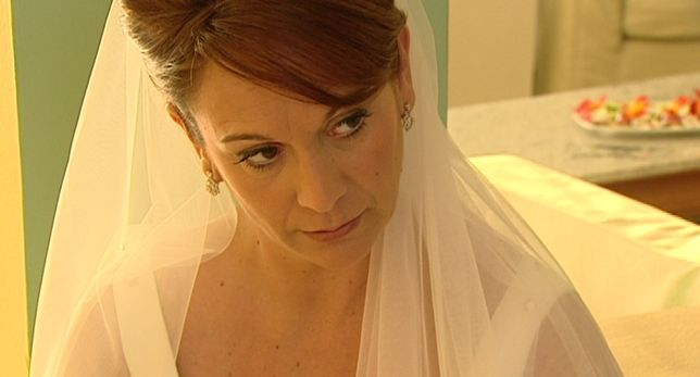 Novia @innovias de Casados a Primera vista, precioso primer plano de su velo @innovias