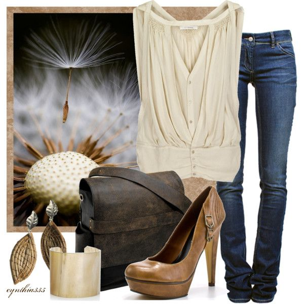 neutrals, created by cynthia335 on polyvore