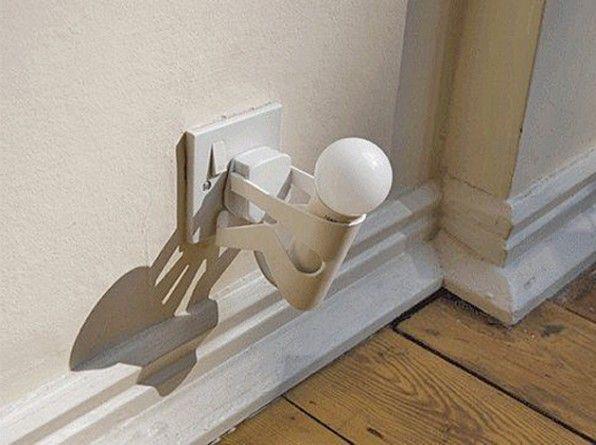 Lamp Kinderkamer Design : Mini nachtlamp led man stekkerlampje lichtsensor voor kinderkamer