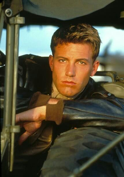 Movie Pearl Harbor. Ben affleck is so attractive