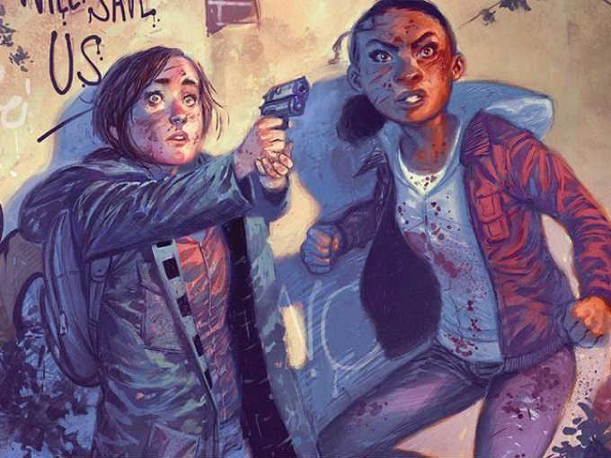 3.- THE LAST OF US: AMERICAN DREAMS (Dark Horse Comics) Descubre cómi empezó la amistad entre Ellie y Riley, mucho antes de los acontecimientos de Left Behind. La historia fue escrita por Neil Druckmann, escritor y director creativo del videojuego.
