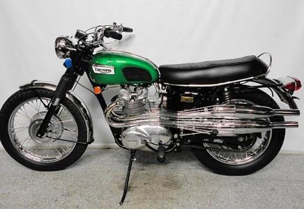 1969 Triumph Trophy T100C - MidAmerica Auctions LAS13
