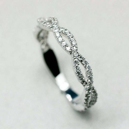 eternity ring. Two circles intertwined. Simple and elegant.