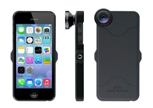 Компания Schneider Optics представила #iPro Lens System – комплект сменных объективов для #iPhone и #iPad