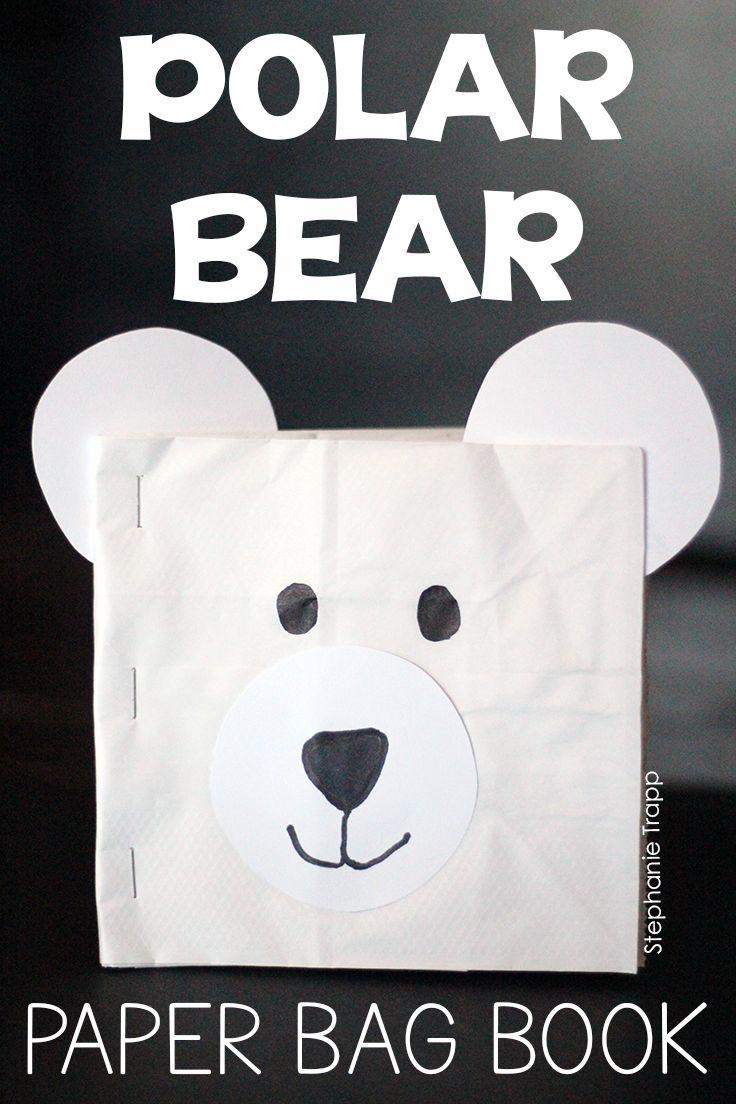 Polar Bear Craft And Writing Activity