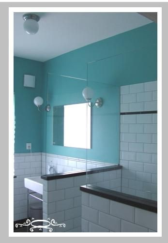 17 best images about badkamer on pinterest indigo theater and blue vans - Kleur moderne badkamer ...