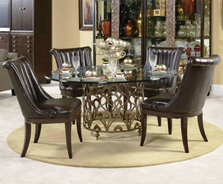 Formal Round Dining Room Tables Images Design Inspiration