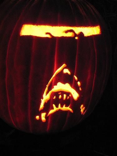 Jaws pumpkin creativity pinterest movies pumpkins
