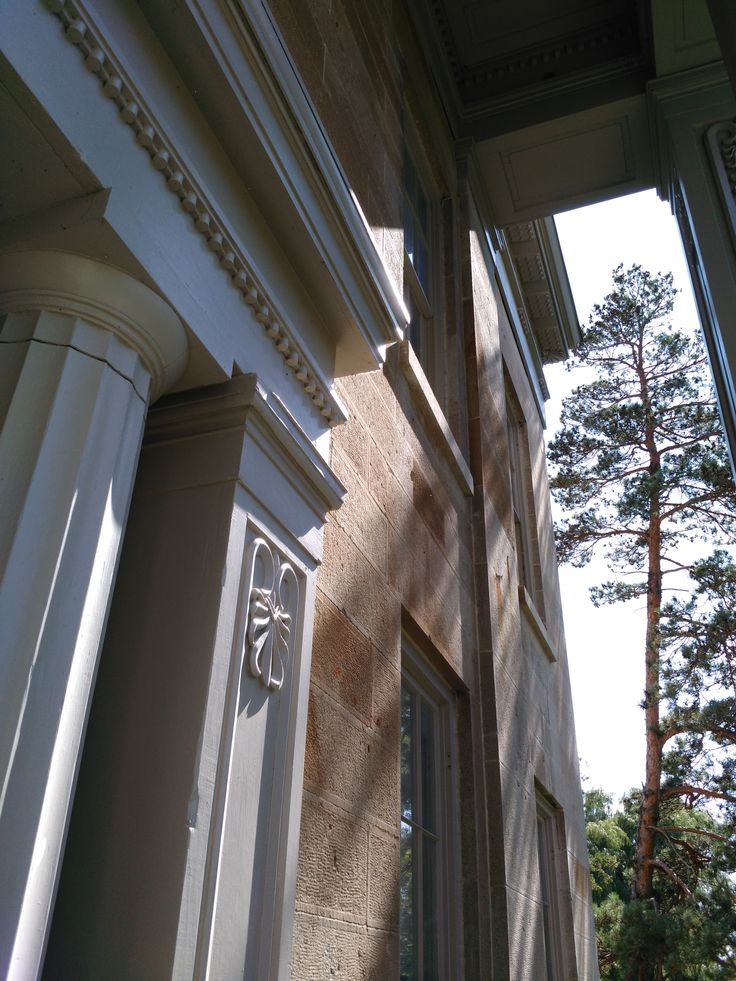 1840s Greek Revival Mansion at Ruthven Park National Historic Site