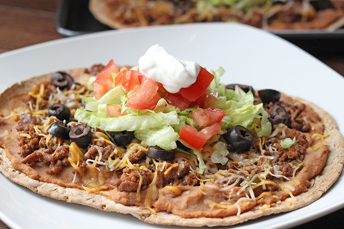 Skinny Taco Flatbread | Skinny Mom | Tips for Moms | Fitness | Food | Fashion | Family