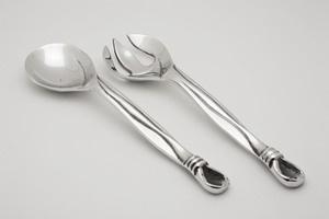 Knot Design Serving Utensils