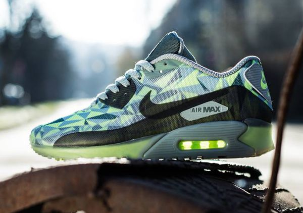 Nike Air Max 90 Volt Mica Green Dark Green Black (1) | Nike