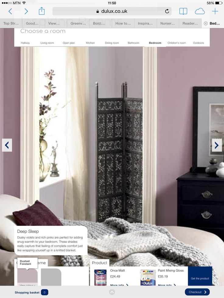 Using dusted fondant and chic shadow Dulux for bedroom ...