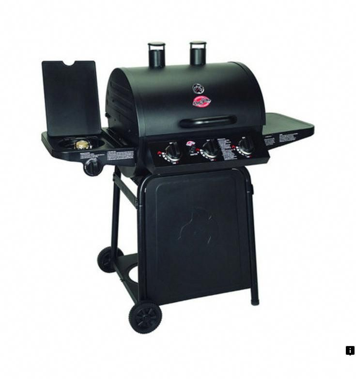 Brinkmann Smoke N 5 Burner Propane Gas Grill 810 1751 Sc At The Home Depot Mobile Propane Gas Grill Grilling Gas Grill