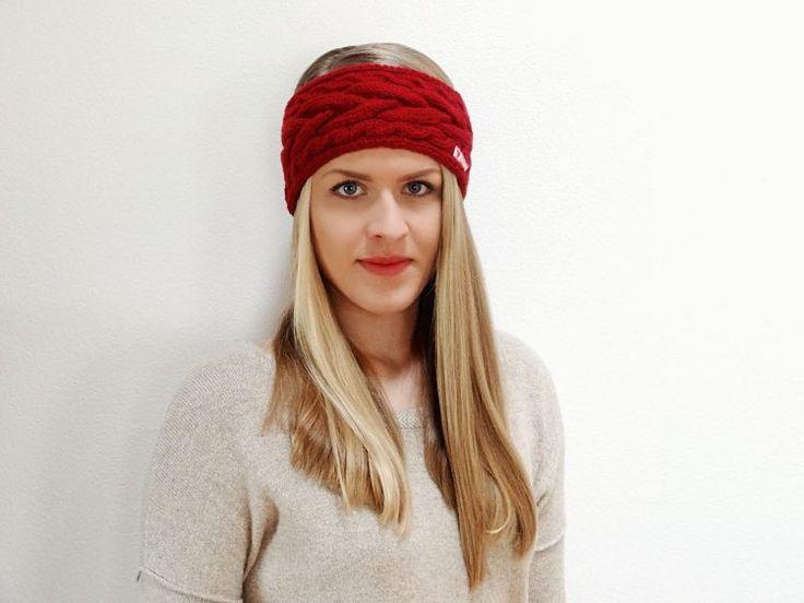 Tutorial fai da te: Come realizzare una fascia di lana a maglia con motivo a treccia via DaWanda.com
