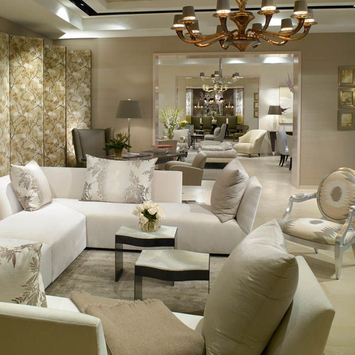 Wonder How Long That White Couch Would Stay White At My House!