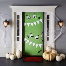 Michaels Monster Door Décor