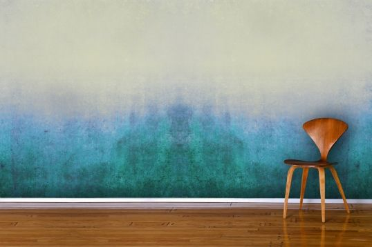 Blue Grunge Wall Mural Wallpaper Wall Mural | MuralsWallpaper.co.uk