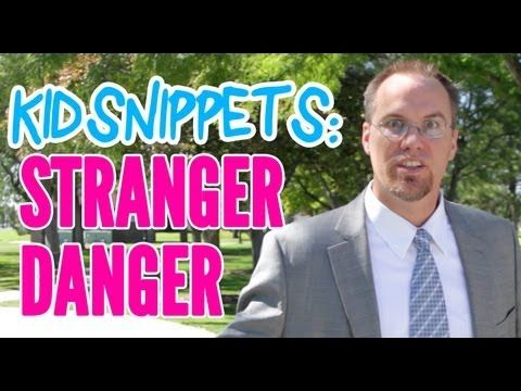 """Kid Snippets: """"Stranger Danger"""" (Imagined by Kids) Check out this video! It is hilarious!  The kids talk about a topic and then the adults act it out.  Their videos crack me up all the time!"""
