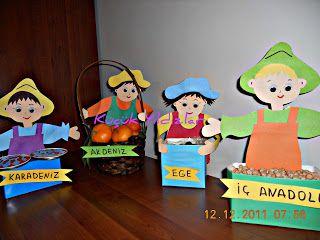 Çocuklara   ve   ögretmenlere   eğlenceli   faaliyetler: GEL GEL YERLİ MALLARA GEL